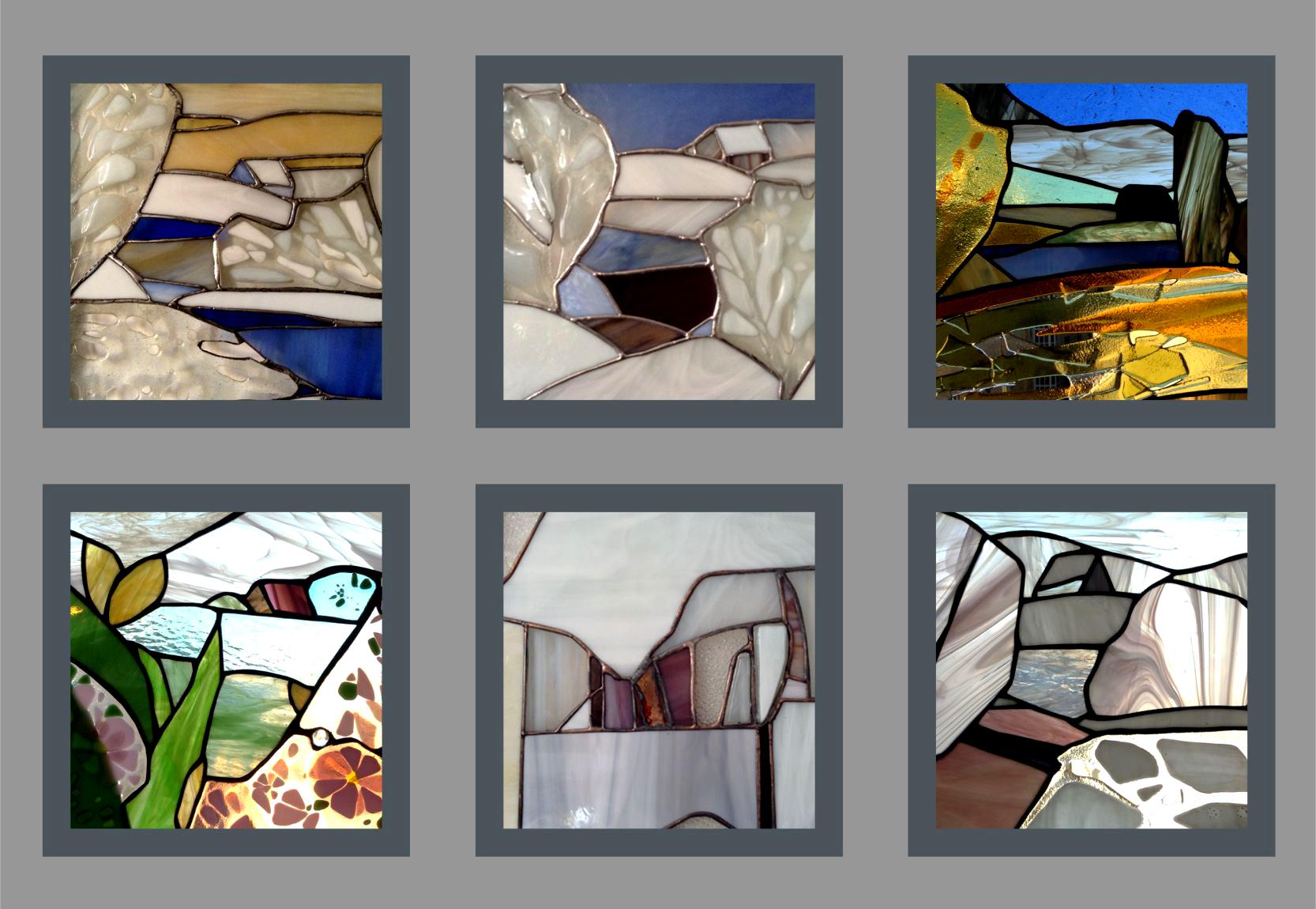 Коллекция мини картин-витражей
